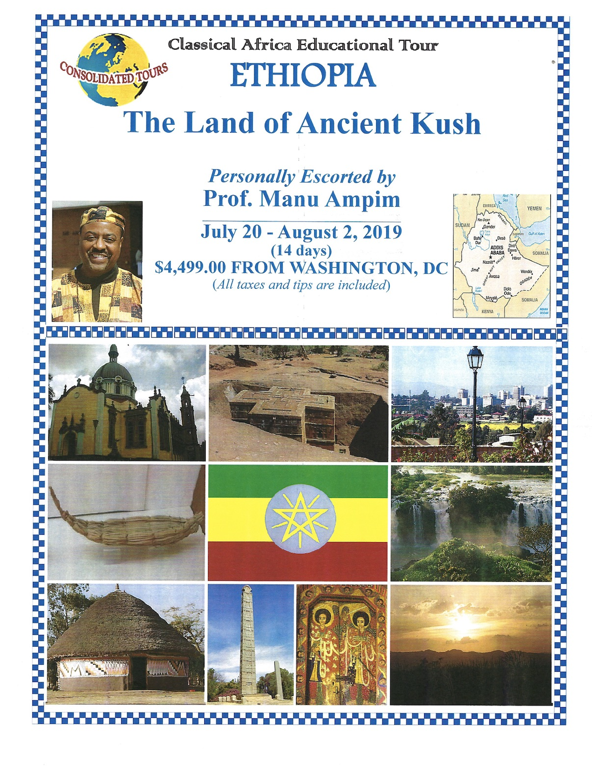 Ethiopia Ancient Kush Tour 2019 pg1