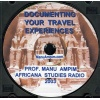 "CD: ""Documenting Your Travel Experiences"""